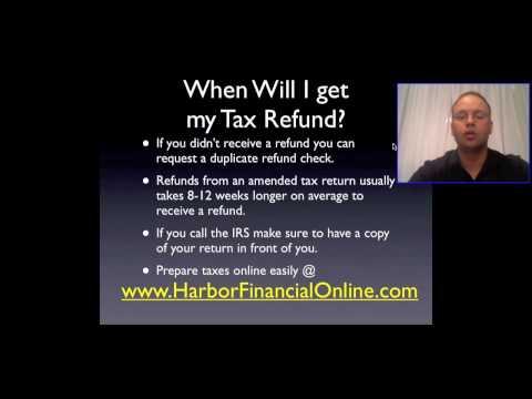 When Will I Get My Tax Refund 2012, 2013
