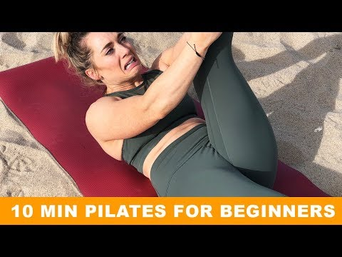 BEGINNER 10 MINUTE PILATES FLOOR ROUTINE - Build a Strong Core for Overall Strength