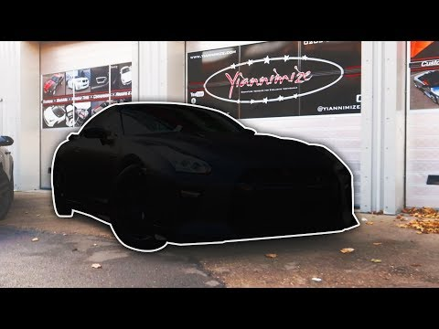 REVEALING MY YIANNIMIZE CAR WRAP!