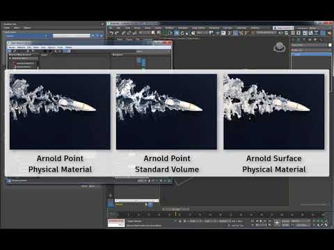 3ds Max Fluids Part 3 - Container Emitters and Foam Rendering Basics