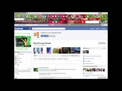 How To Set Up A Facebook Fan Like Page Unique URL