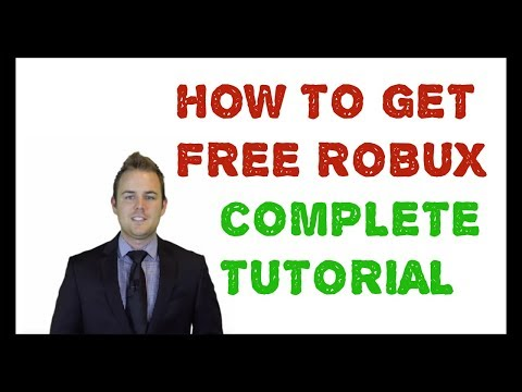 How to get Free Robux - Roblox Hack (Tutorial/Guide/Review) 2018