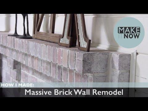 Massive Brick Wall Remodel