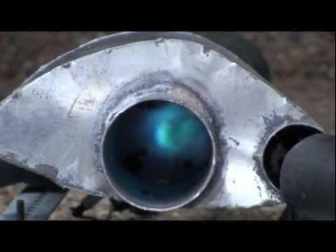 Mini Jet Engine Combustion Chamber Testing