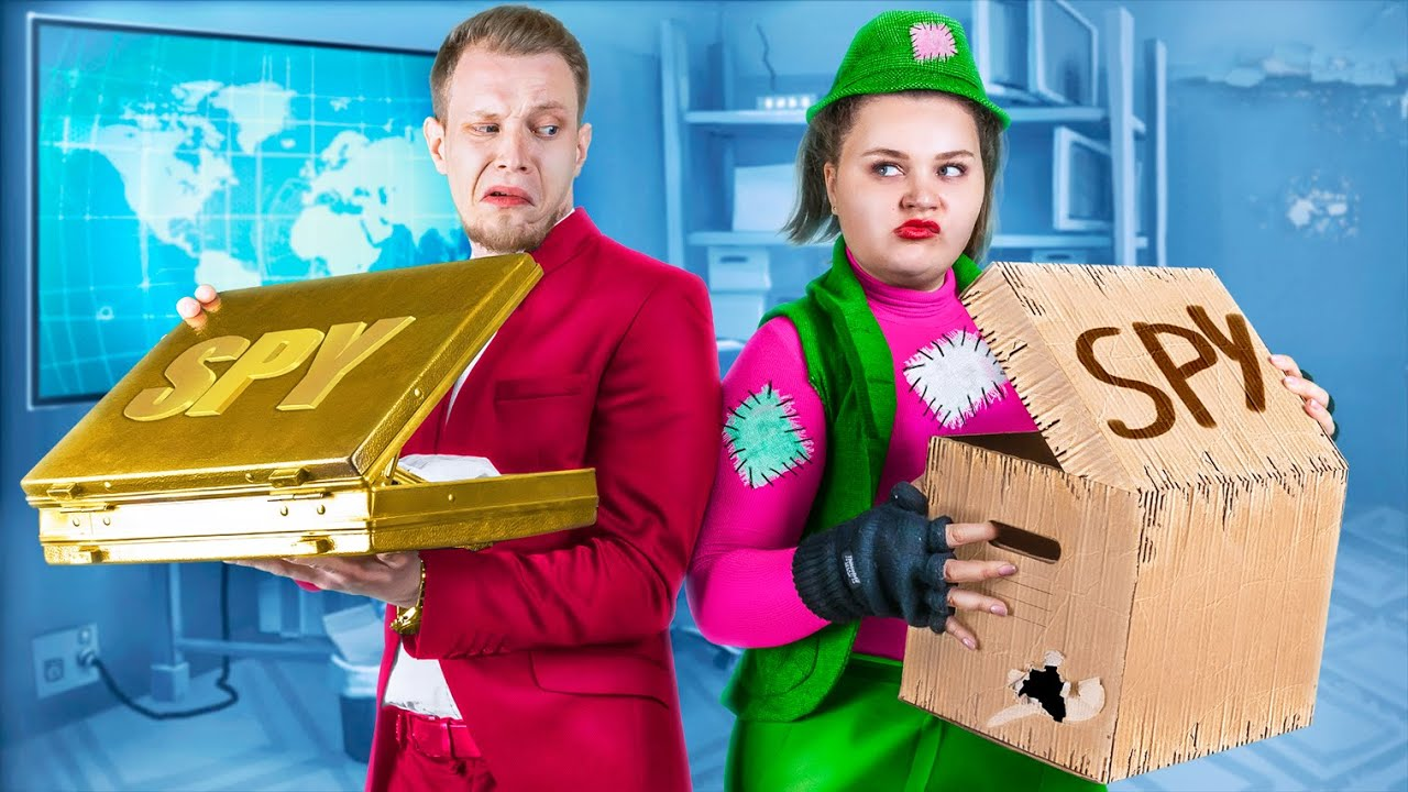 Rich Spy vs Broke Spy / Funny Situations!