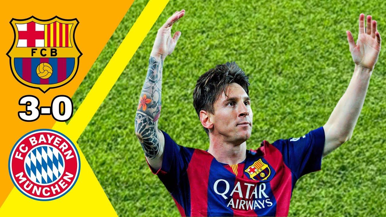 جنون عصام الشوالي/ برشلونة ~ بايرن ميونخ 3-0 دوري أبطال أوروبا 2015 جودة عالية 720P 🔥🔥🔥