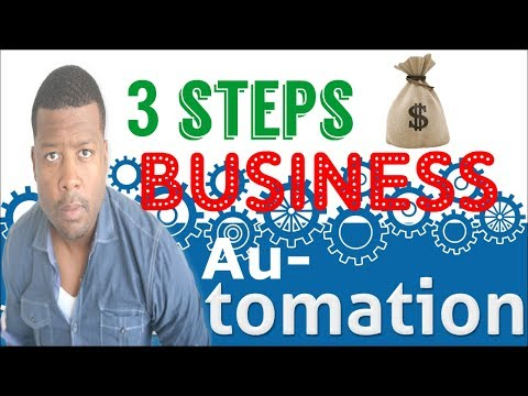 How To Automate Your Online Business In 3 Steps