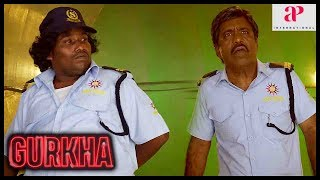 Yogi Babu Latest Comedy | Gurkha Movie | Yogi Babu tries to impress Elyssa | Charle | Manobala