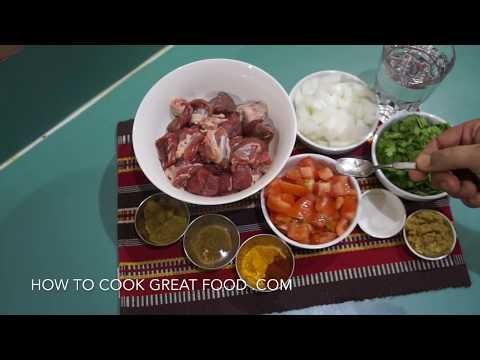 🇬🇧🇮🇳 Lamb Curry Recipe - Indian Easy Masala - Kadai Gosht Karahi