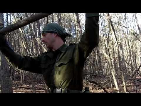 Paracord Survival Shelter Part One