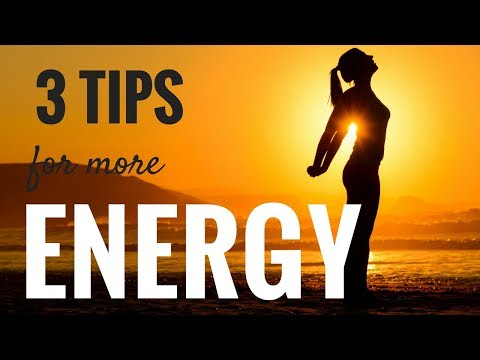 3 Odd Ways to Have More Energy
