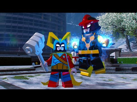 LEGO Marvel Super Heroes 2 DLC Characters Added to Character Customizer