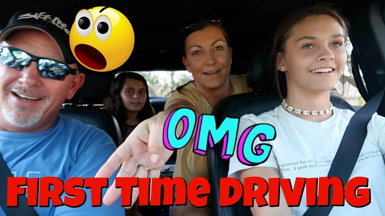 Emma's First Time Driving! Drive with Me Vlog! This is Not going to End Well!