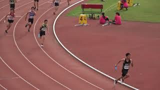 2019全國小學田徑錦標賽國小男12*100公尺接力計時決賽第一組