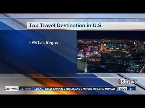 TripAdvisor finds Las Vegas among top travel destinations