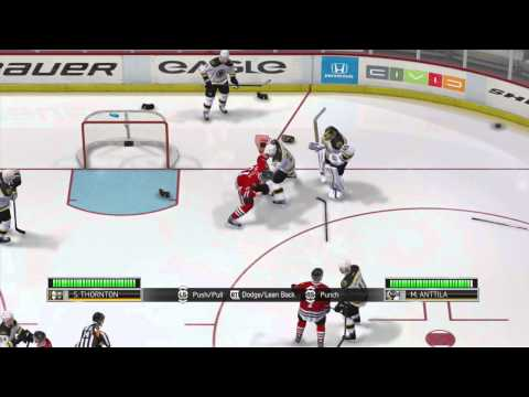 NHL 14 - Demo: First Fight! - All New Enforcer Engine
