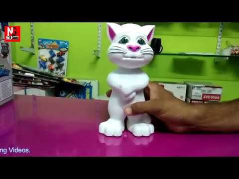 Talking Tom Cat Toy unboxing