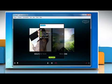 Add People to an Ongoing Group Call in Skype® for Windows® Desktop