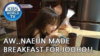 AWW Naeun made breakfast for her dad?! [The Return of Superman/2018.09.02]