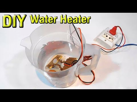 DIY 2KW water heater | how to make a water heater | homemade | Stupid Engineer