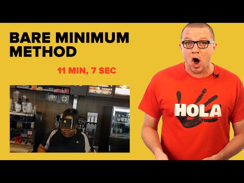 Learn Spanish Like Kids Learn - The Bare Minimum Method