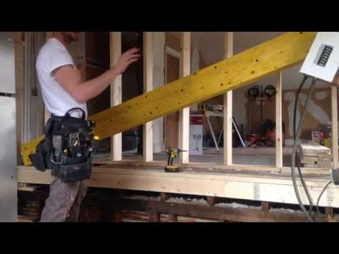 How To Install Load Bearing Beam- Laminated Veneer Lumber LVL (Part-3)