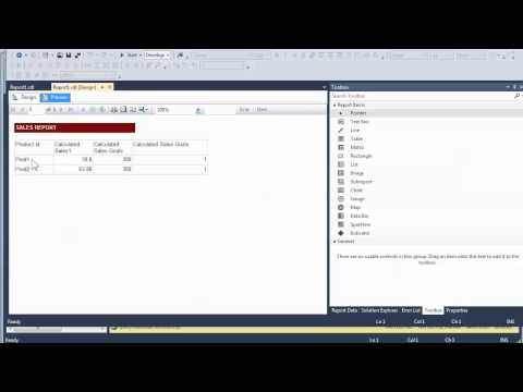 Creating SSRS reports with MDX quieres