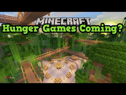 Minecraft Xbox 360 / PS3 Hunger Games Servers Coming?