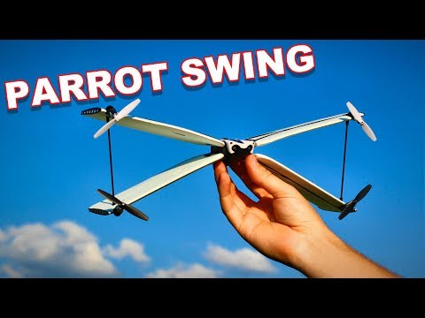 Parrot Swing a Drone Airplane Combo - TheRcSaylors