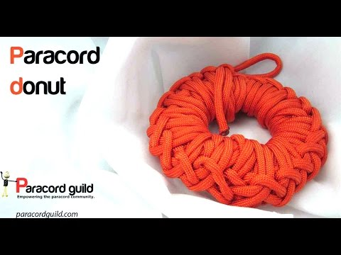 How to make a paracord donut