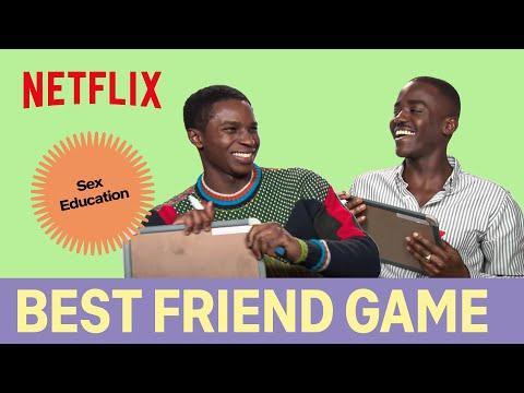 Xxx Mp4 The Best Friend Game With Sex Education 39 S Ncuti Gatwa Eric Amp Kedar Williams Stirling Jackson 3gp Sex