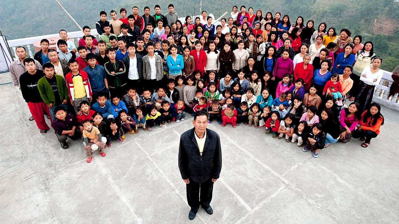 This Man Has 94 Children! Most Unusual Families in the World