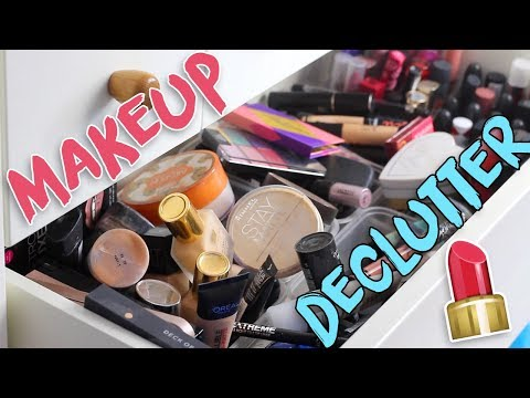 DECLUTTERING MY MAKEUP COLLECTION! ♡