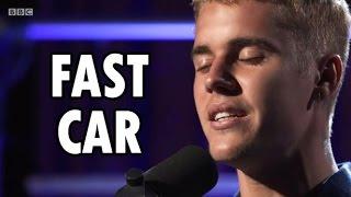 "Justin Bieber BBC Radio 1 ""Fast Car"" Live"