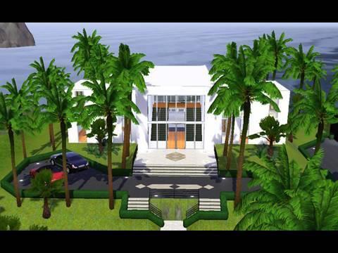 Building a Modern Beach House in the Sims 3