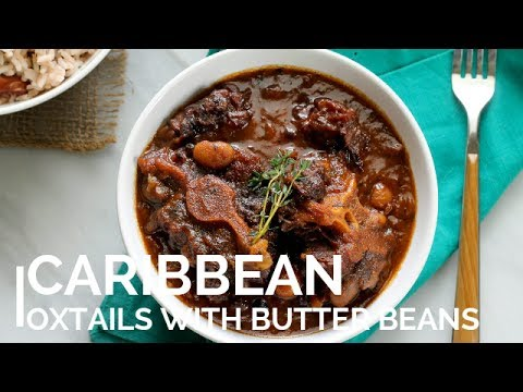 Caribbean Oxtails: step by step