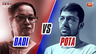 Dadi Vs Pota - Rapbaazi | Ft. Himani Shivpuri | Election Special | Being Indian