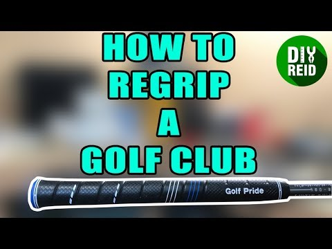 How to Regrip Golf Clubs Yourself