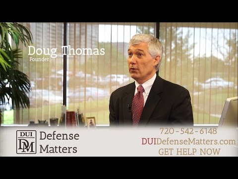 DUI Defense Matters Interview with Douglas A. Thomas (Audio)