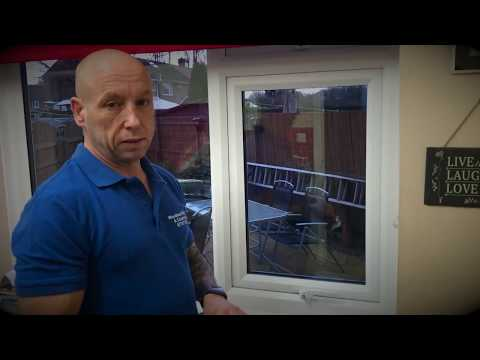 How to remove glass from a double glazed uPVC window