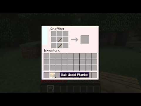 How to make: Wooden axe [Minecraft] [Tool]