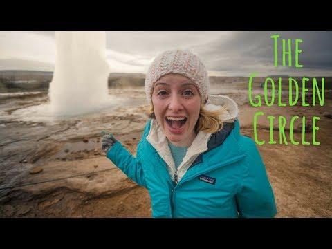 GEYSER & GULLFOSS WATERFALL | Golden Circle, Iceland