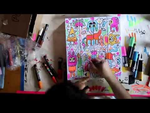 #ClassicCreatives | Jon Burgerman x Classic Specs