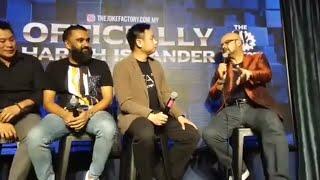 Harith iskander live with Douglas Lim , Mad Sabah , Rashid salleh