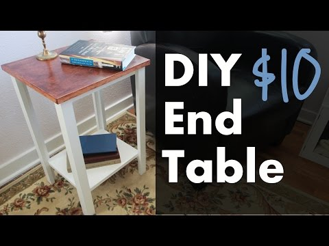Make an End Table w/ Plywood