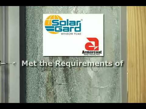 SolarGard Window Film Safety Testing