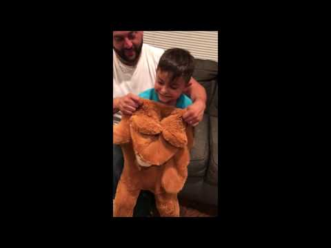 Kid turns into Bear! DIY