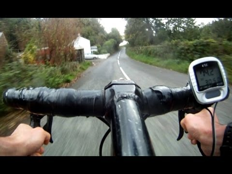 GoPro HD Cycling - Crazy Drivers and Top Speeds!