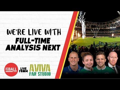 #AvivaFanStudio: Ireland 37-27 Wales Full-Time Analysis