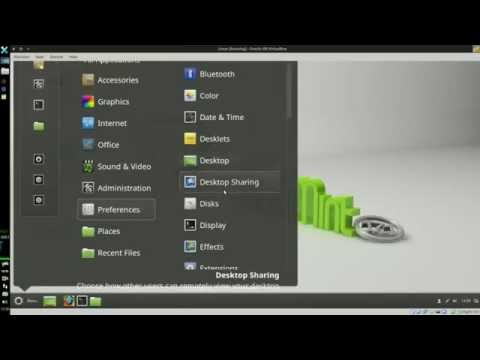 Linux Mint scaling interface and text size